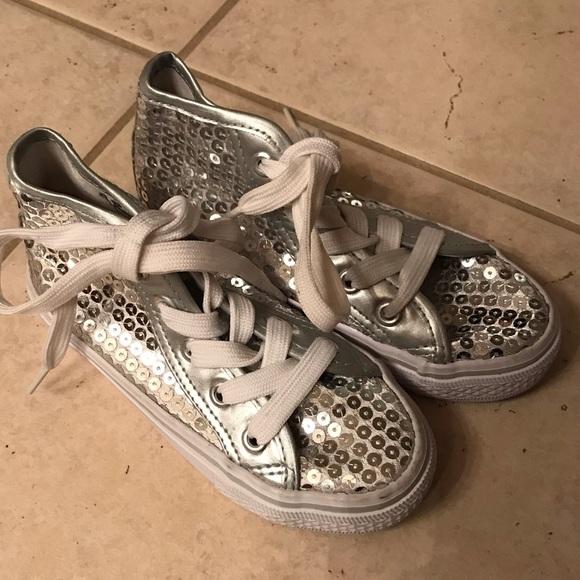 154b2dbbc balera Other - Balera Silver Sequin High Top Hip Hop Dance Shoes